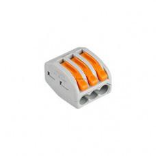 Клемма 222-412 (2 провода, 2.5-4мм)
