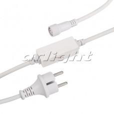 Шнур питания ARD-CLASSIC-FLASH-1.5M White (230V, 1.6A)