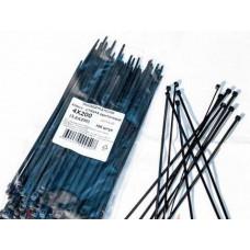 Хомут-стяжки ленточные 5х300 (4,8х300) белые (100 шт. в упаковке)