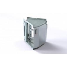 Короб кабельный блочный угловой горизонтальный с наружным углом поворота на 45º
