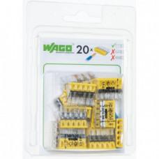 Мини-упаковка осветительных клемм WAGO 2273-205/996-020 5х2.5 в блистере 20шт