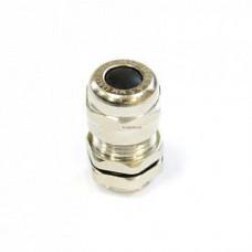 Кабельный ввод М 10 латунный УТ1,5 IP66/IP67/IP68 d кабеля 3-6,5мм ЗЭТА