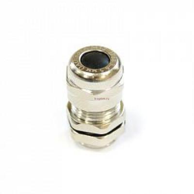 Кабельный ввод М 19 латунный УТ1,5 IP66/IP67/IP68 аналог У261,d кабеля 6-12 мм ЗЭТА