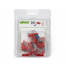 Мини-упаковка осветительных клемм WAGO 2273-204/996-020 4х2.5 в блистере 20шт