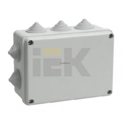 Коробка распределительная 150х110х070 серая IP55 КМ41242 IEK