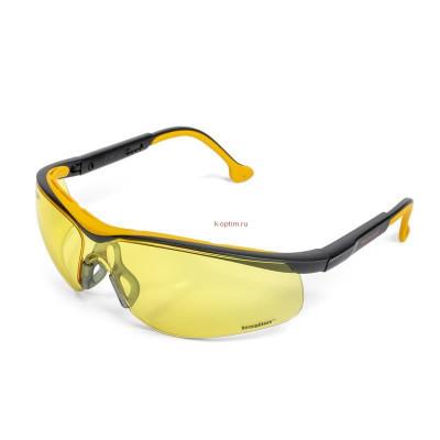 Очки защитные открытые 050 MONACO StrongGlass CONTRAST
