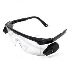 Очки защитные открытые со светодиодным освещением ОМ-04