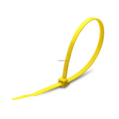 Стяжка кабельная КСС 3х100 желтая