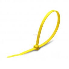 Стяжка кабельная КСС 4х200 желтая