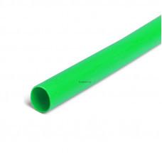 Термоусадочная трубка ТНТ нг-LS-10/5 зеленая в метровой нарезке с коэффициентом усадки 2:1