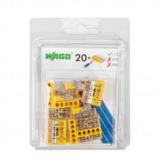 Набор миниатюрных клемм Wago 2273–205 без контактной пасты