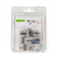 Набор миниатюрных клемм Wago 2273–208 без контактной пасты